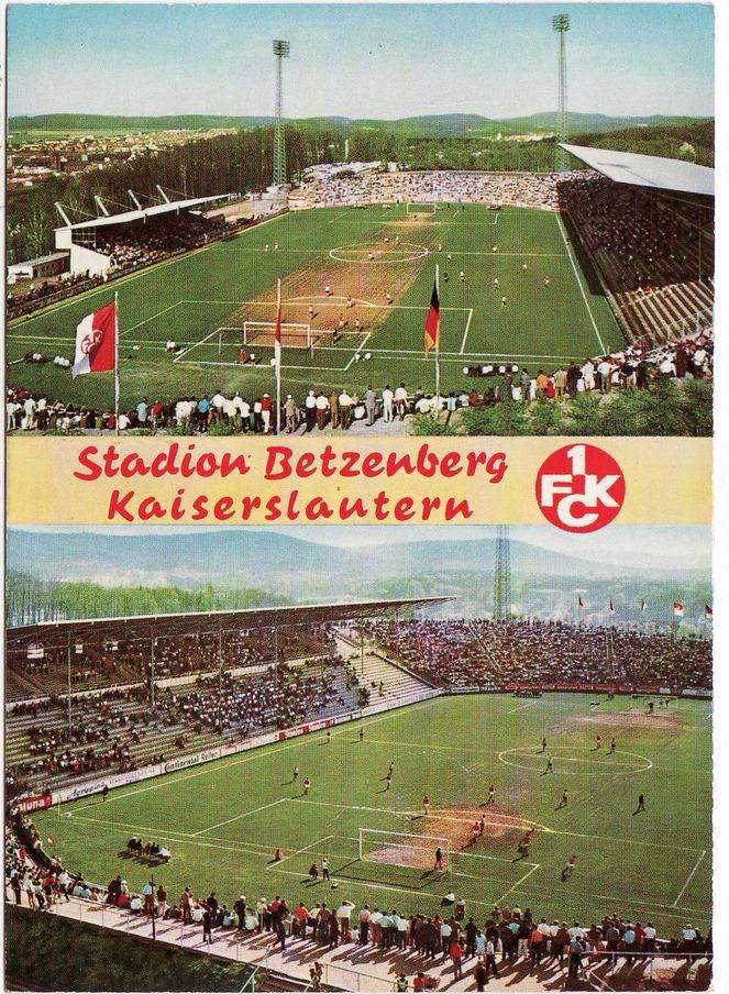 Stadion Betzenberg 1 Fc Kaiserslautern Theodor Zink Museum