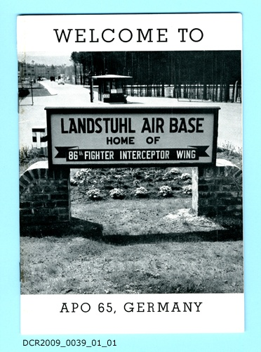 Informationsschrift, Welcome to Landstuhl Air Base, Home of 86th Fighter Interceptor Wing (dc-r docu center ramstein CC BY-NC-SA)