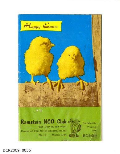 Programmheft, Ramstein NCO Club, The Best in the West, House of Top Notch Entertainment, March 1964, Nr. 10 (dc-r docu center ramstein CC BY-NC-SA)