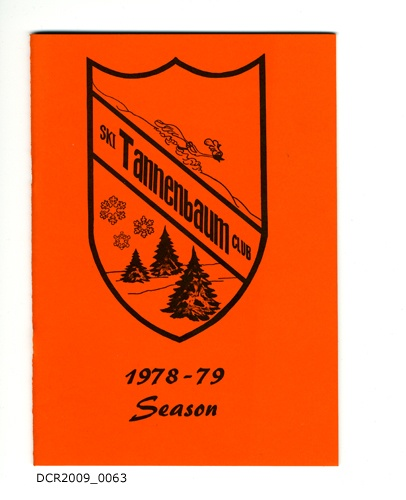 Programmheft, Ski Club Tannenbaum, 1978-79 Season (dc-r docu center ramstein CC BY-NC-SA)