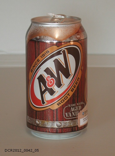 Getränkedose, A & W Root Beer (dc-r docu center ramstein CC BY-NC-SA)
