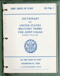 Wörterbuch, Dictionary of United States Military Terms for Joint ...