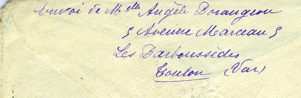 Französischer Brief Aus Toulon Historisches Museum Der Pfalz