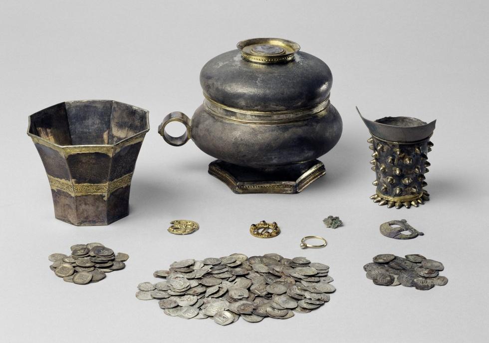 Schatzfund, um 1340-1349 (Historisches Museum der Pfalz, Speyer CC BY-NC-SA)