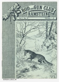Heft, monatlich, Rod and Gun Club Ramstein, Vol. 2, Nr.10, Februar ...