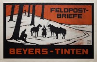 Feldpost-Briefe. Beyers-Tinten
