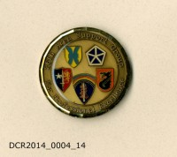 Gedenkmünze, Group Commander's Coin, 26th Area Support Group