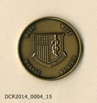 Gedenkmünze, Challenging Coin, USAMMCE, Say it with pride