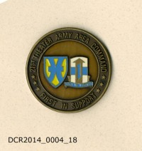 Gedenkmünze, Challenging Coin, 21st Theater Army Area Command