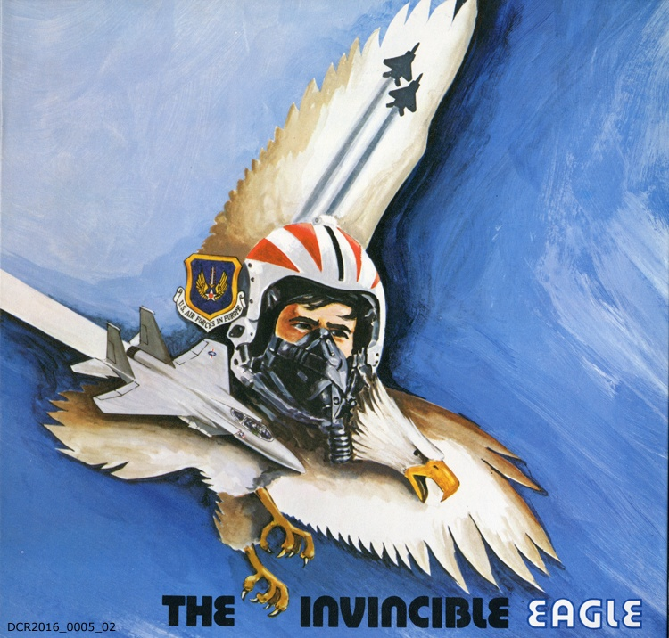 Langspielplatte, LP, The invincible eagle (
