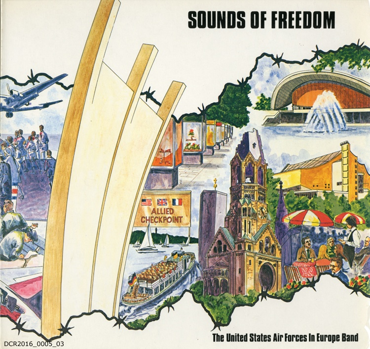 "Langspielplatte, LP, Sounds of Freedom (""dc-r"" docu center ramstein CC BY-NC-SA)"