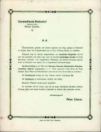 Angebotsvordruck Der Pension Clever In Bodendorf Heimatmuseum Und