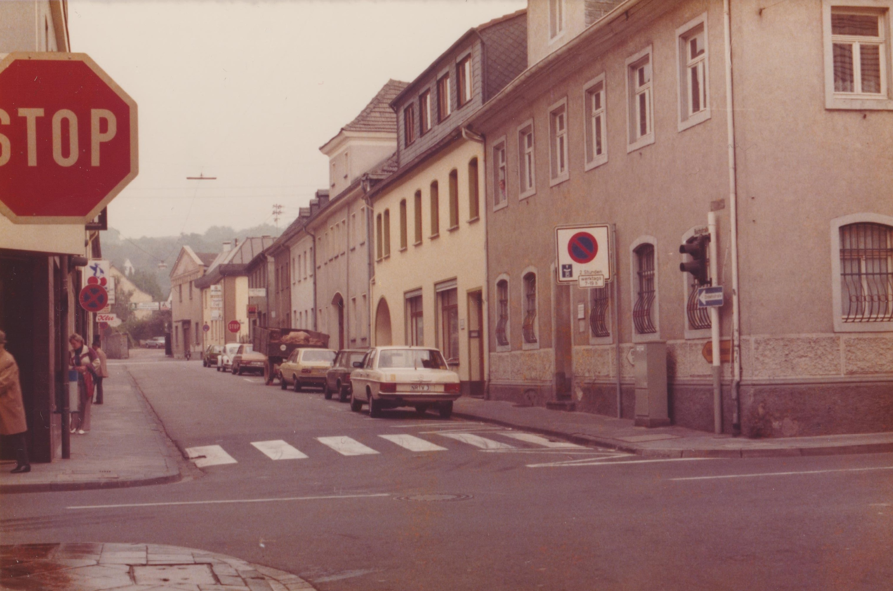 Bachstrasse in Bendorf 1977 (REM CC BY-NC-SA)