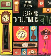 Langspielplatte, LP, Walt Disney presents Learning to tell time is fun