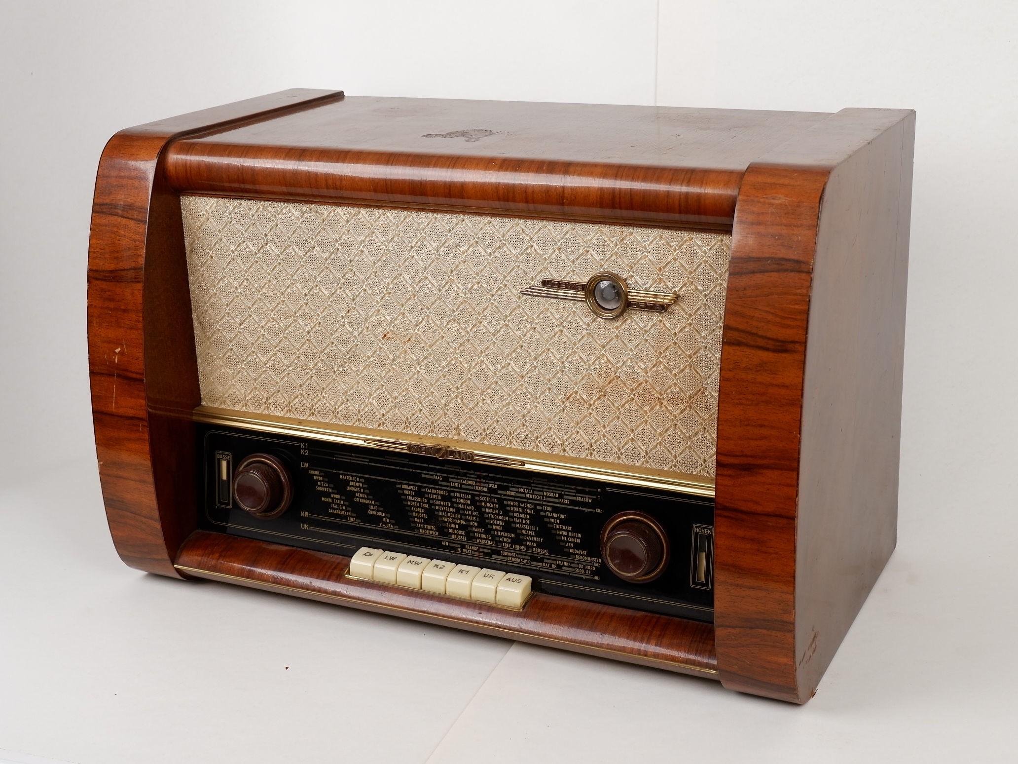 Röhrenradio Loewe Opta Rheinland 4953W
